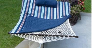 Alea's Deals Algoma Blue Stripe Hammock Combination Unit ONLY $100 Shipped! Reg. $299.99!