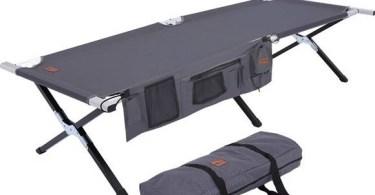 Alea's Deals Tough Outdoors Camping Cot – X-Large $64.99 (reg $101.99)