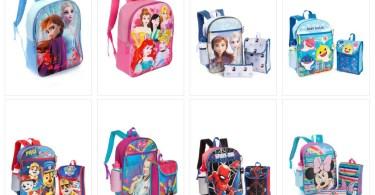 Alea's Deals Kids Backpacks & Backpack Sets as low as $8!!