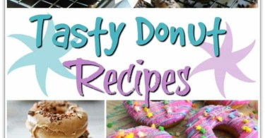 Alea's Deals 15 Tasty Donut Recipes - PIN THIS!