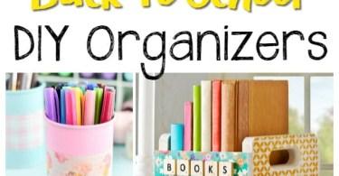 Alea's Deals 20 Back to School DIY Organizers!