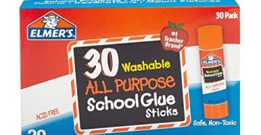Alea's Deals Elmer's All Purpose School Glue Sticks, Washable, 7 Gram, 30 Count Up to 53% Off! Was $14.99!