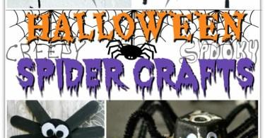 Alea's Deals 15 Halloween Spider Crafts