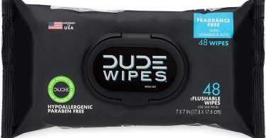 Alea's Deals DUDE Wipes Flushable Wipes Dispenser, 48 Count (Pack of 1)  – 57% PRICE DROP+SUB/SAVE!