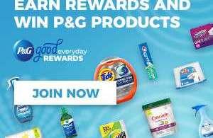 Alea's Deals *NEW* P&G Good Everyday Rewards Program!