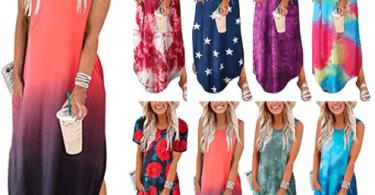 Alea's Deals 60% OFF Maxi Summer Dress - Sizes S-2XL!