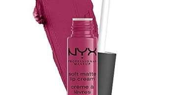 Alea's Deals NYX PROFESSIONAL MAKEUP Soft Matte Lip Cream, Lightweight Liquid Lipstick - Prague (Matte Merlot)  – 74% PRICE DROP+SUB/SAVE!