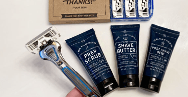 Alea's Deals 6-Blade Razor, 4 Refills, Shave Butter & Scrub Only $5 + FREE Shipping ($14 Value!)