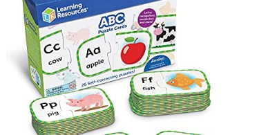 Alea's Deals 41% Off Learning Resources ABC Puzzle Cards, Kindergarten Readniness, Self Correcting Puzzles, Ages 4+, Multi! Was $10.99!