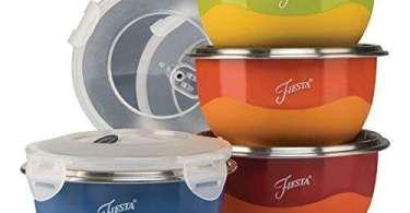 Alea's Deals 43% Off Fiesta Prep 8-Piece Microwave Safe Bowl & Lid Set! Was $29.99 ($7.50 / Count)!