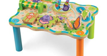 Alea's Deals 47% Off Melissa & Doug First Play Children's Jungle Wooden Activity Table for Toddlers! Was $53.99!
