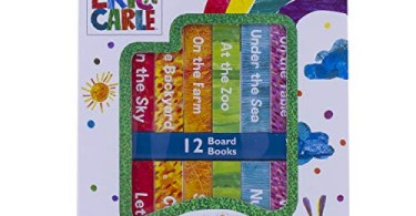 Alea's Deals 43% Off World of Eric Carle, My First Library Board Book Block 12-Book Set - First Words, Alphabet, Numbers, and More! - PI Kids! Was $15.99!