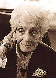 Rita Levi Montalcini - dal sito ww.ritalevimontalcini.org