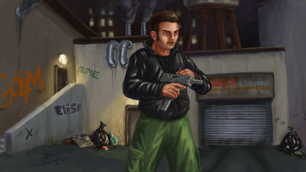 A personal project inspired by the Grand Theft Auto Series.