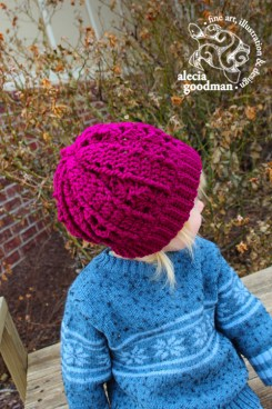 crochet hat child