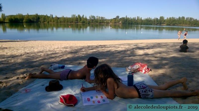 L'école au lac