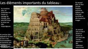 La tour de Babel - Brueghel