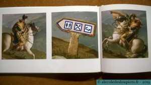 Les vraies histoires de l'art - Bonaparte franchissant le col du Grand-Saint-Bernard