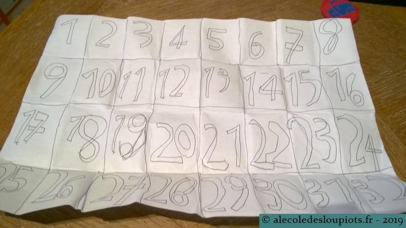 Livre des nombres de 0 à 32
