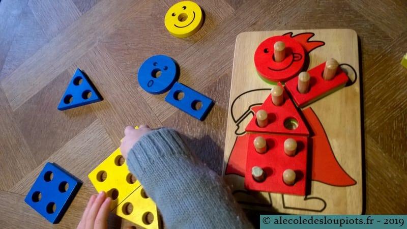 Puzzle formes