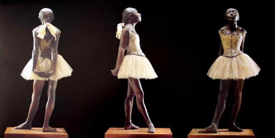 Degas-La petite danseuse de 14 ans
