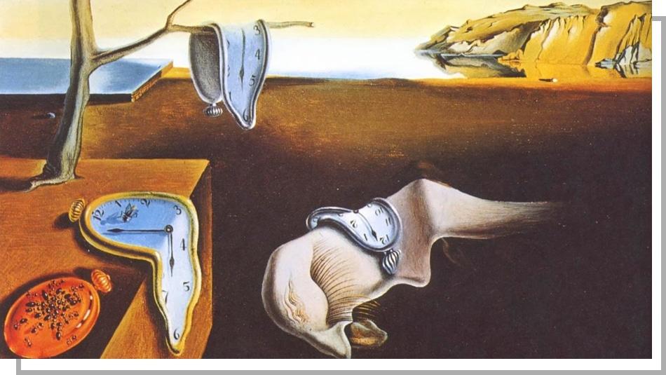 La persistance de la mémoire - Dali