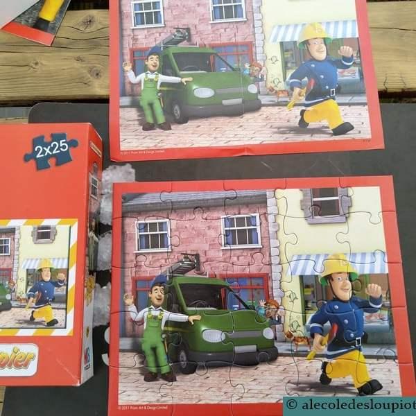 Puzzles 25 pièces