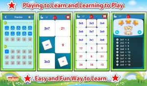 Multiplication Tables Challenge - Mode Practice