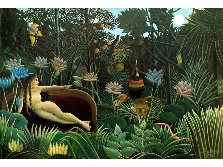 Le rêve - Douanier Rousseau