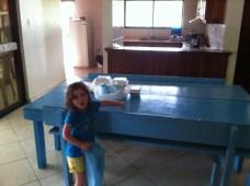 Calliopée à l'école française de Rio San Juan