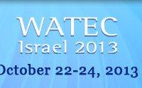 Выставка WATEC 2013 Израиль