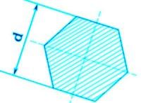 Шестигранник – это прочный стальной прут, имеющий в сечении равносторонний шестигранник