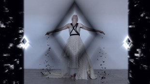 Aleem Yusuf Couture - AYC - Fashion Film - Dark Evolution - Australian Designer still 39