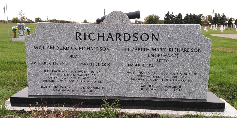 Upright Memorial