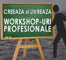 Workshop Creeaza si livreaza workshopuri profesionale