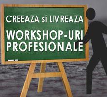 Workshop Creeaza si livreaza workshopuri profesionale
