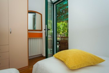 Room for children on the first floor in alegria lumbarda apartment