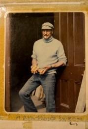 photo of Afton Blackadder holding gold bars