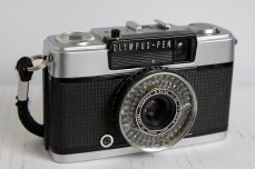 photo of the front of an olympus pen EE-3