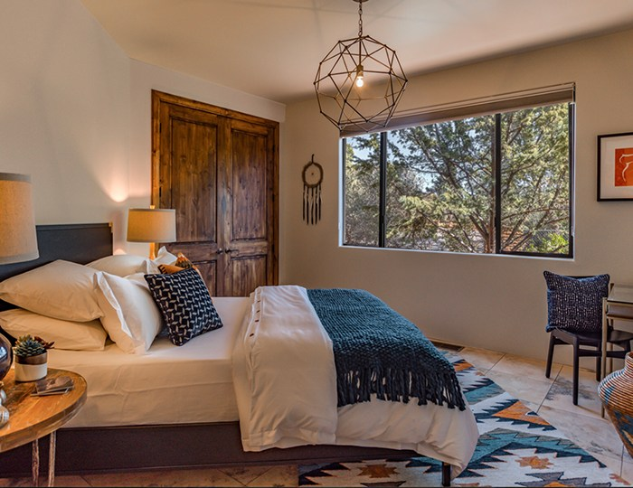SedonaFengShui - use items that are native to your environment to make your home one with the surroundings. This home in Sedona Arizona has touches of Native American influences throughout.