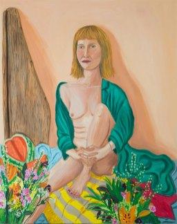 Eva, oil on canvas, 100 x 80 cm, 2016