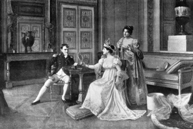 Napoléon I and Joséphine.