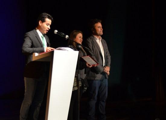 De izquierda a derecha, Alejandro Londoño, Yacqueline Salazar y Juan Carlos Sánchez