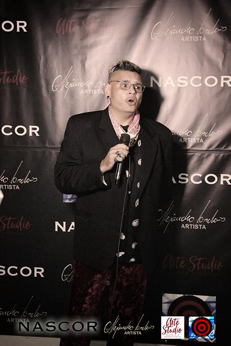El curador de Nascor, Norman Botero