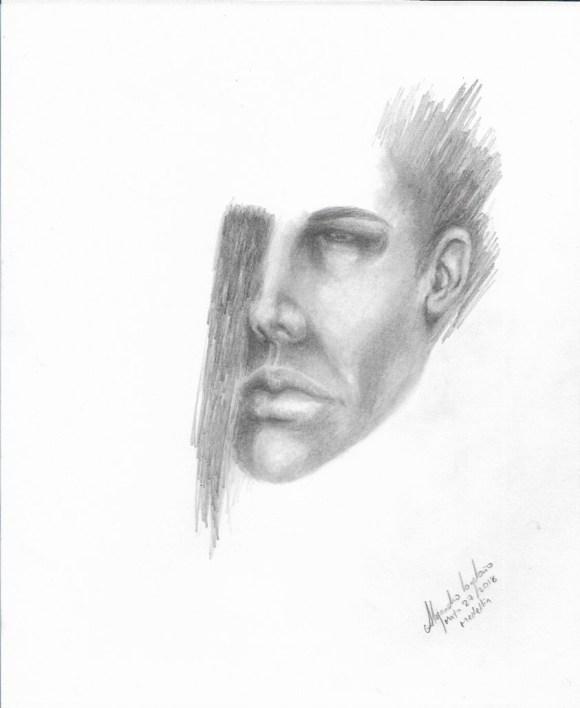 Título: Esencia 6 Serie: Esencia Técnica: Grafito Artista: Alejandro Londoño