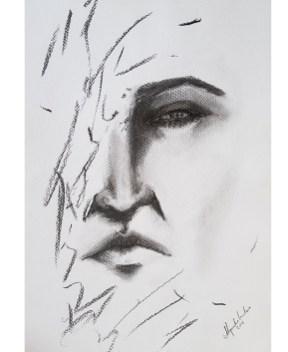 Título: Esencia 10 Serie: Esencia Técnica: Carboncillo Artista: Alejandro Londoño