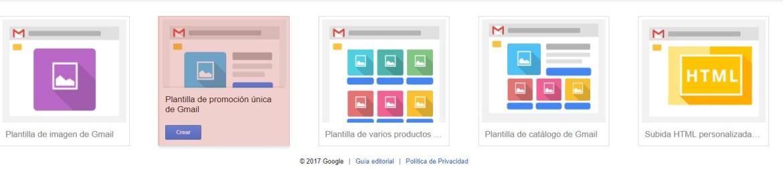 Como crear campaña gmail ads paso 6