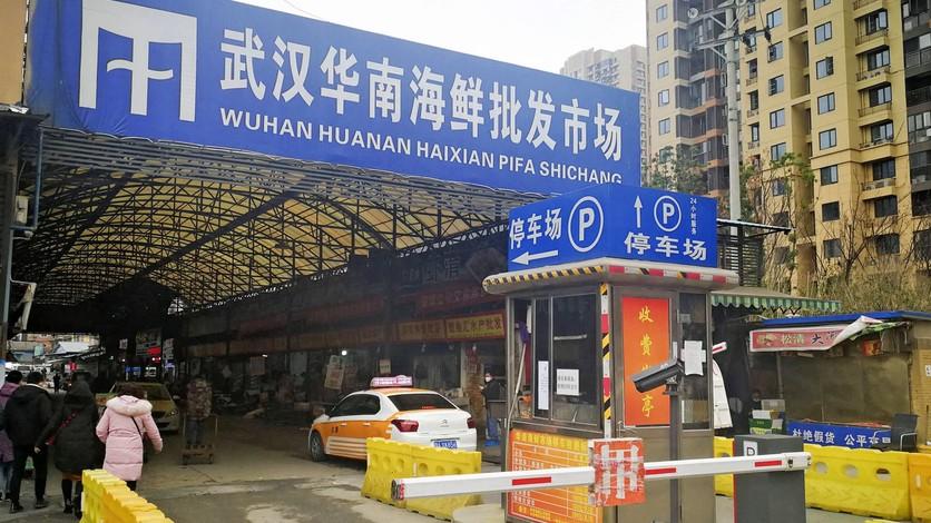 Mercado de Huanan, Wuhan, zona cero del brote de Coronavirus, COVID-19.