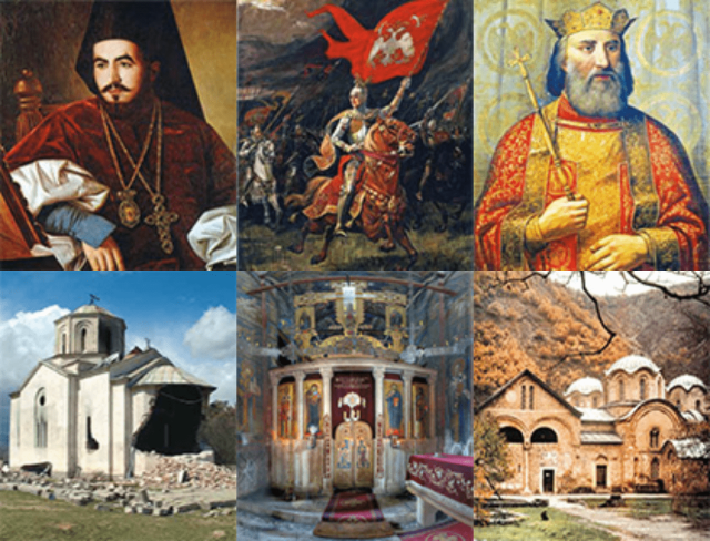 """""""This book on Serbia's Christian Heritage in Kosovo and Metohija, its heartland in medieval times and through Ottoman domination, is intended to introduce to a wide reading public the oldest and richest treasury of Serbian medieval history and culture. Its authors are leading specialists in the fields in which they write, so readers may place complete reliance on the factual accuracy of the material."""""""