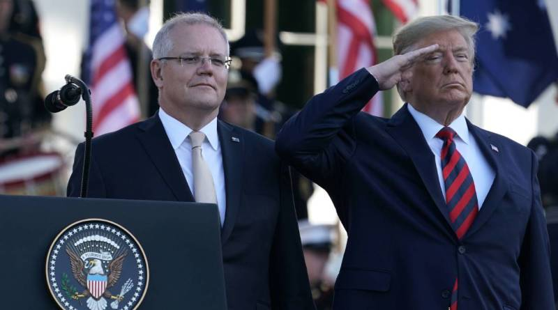 Australia's lack of independent foreign policy is a hangover from a racist history